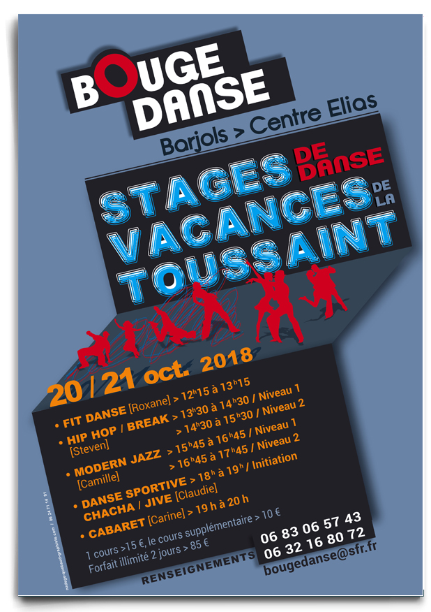 affiche gala association danse de salon